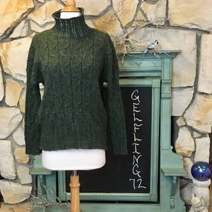 Free Press Green Sweater